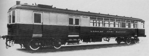 Sentinel and Clayton steam railcars were introduced on LNER branch lines to cut costs in the 1920's. With cabs at both ends and 'coffee pot' boiler in the middle, driver and fireman only met at termini. This one based in North Lincolnshire