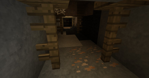 Minecraft's standard ores merge seamlessly with the new stone types, sometimes making them very easy to spot....
