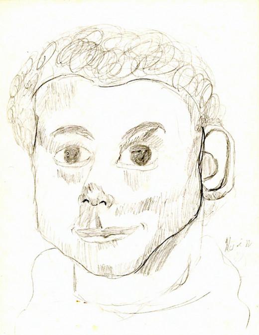 My son's self-portrait.