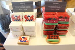Decorated Soaps at Basin