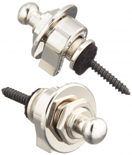 Schaller strap locks are among the best on the market, and can save your guitar or bass from disaster.