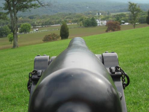 Civil War Era Cannon at Bolivar Heights Battlefield