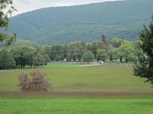 View of Bolivar Heights Battlefield