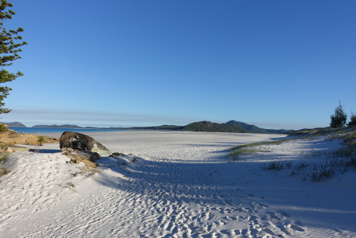 Northern Whitehaven Beach near Tongue Bay