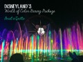 Disneyland's World of Color Dining Package