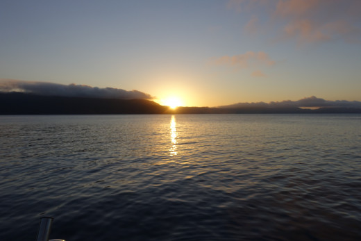 Sunset looking towards Hook Island