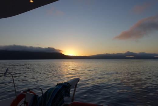 Sunset take two.