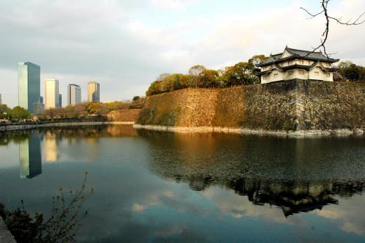 Osaka Castle Moat Osaka Japan