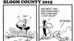 "Is anybody else THRILLED that ""Bloom County"" is back?"