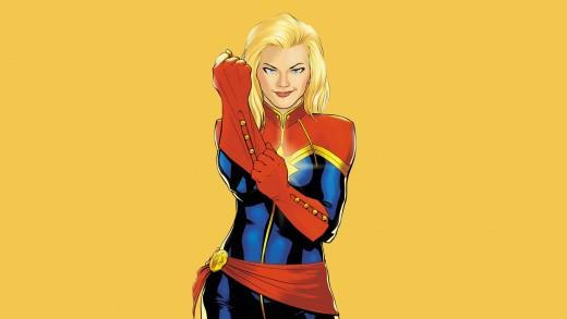Carol as Captain Marvel