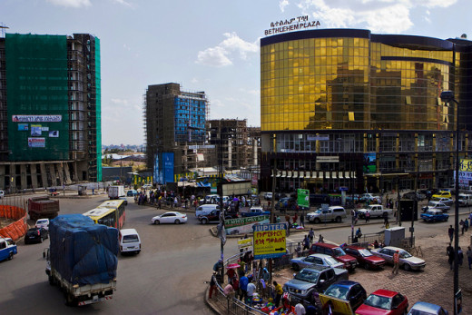 Addis Ababa, capital of Ethiopia, is not only the location of the Africa Union's headquarters, but is a thriving center of business and trade for the region.