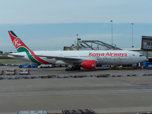 Kenya Airways Boeing 777-2U8(ER)