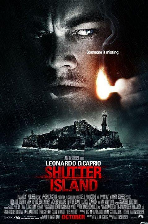 The film poster for Shutter Island