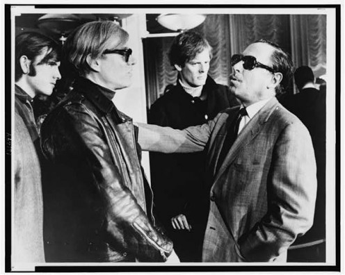 Andy Warhol On Left Tennessee Williams On Right