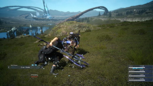 Combat in Final Fantasy XV