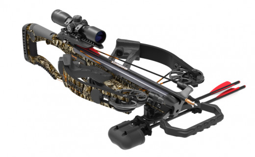 The BC Raptor Reverse is one of the most compact crossbows this season.