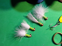 Four Crappie Jigs