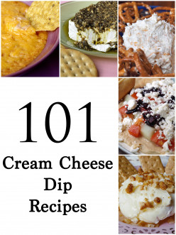 Easy Appetizers - 105 Cream Cheese Recipes and Dips
