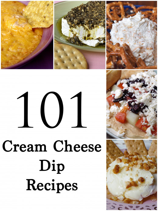 101 Cream cheese dip recipes