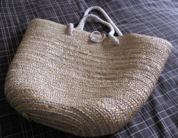 Beach Bag - pretty, practical & packed with all you need for the sun