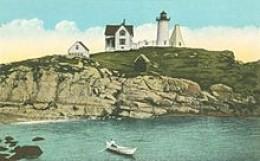 Cape Neddick Light at Nubble Rock