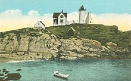 Cape Neddick Light at Nubble Rock