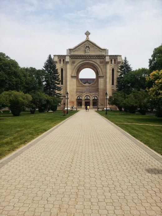 Saint Boniface Cathedral, Winnipeg, Manitoba