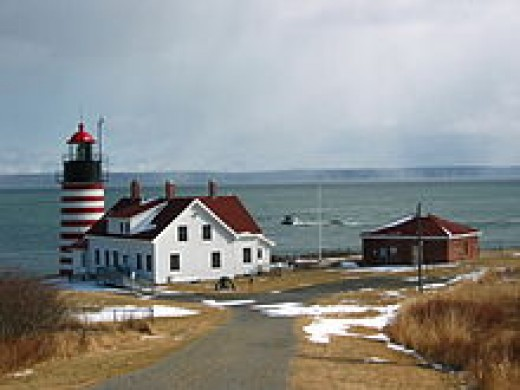 West Quoddy Head Lighthouse