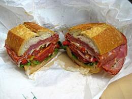 Maine Italian sandwich