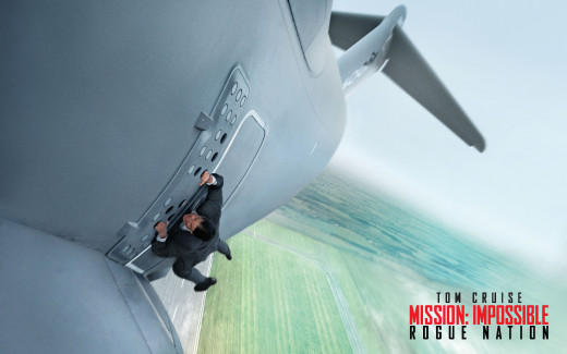 Movie Poster for the fifth Mission Impossible film