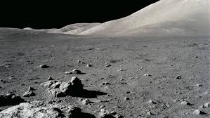 The lunar surface: a place of darkness and mystery... and home to alien life?