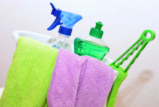 Make your own cleaning solution