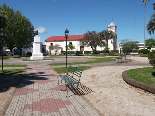 Chapel of Santo Domingo de Soriano adjoining the Square