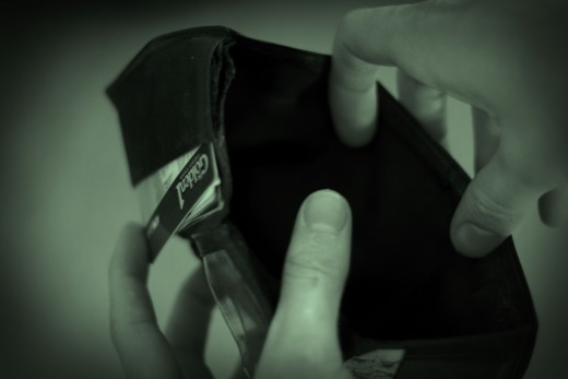 CC BY ND 2.0 Empty Wallet