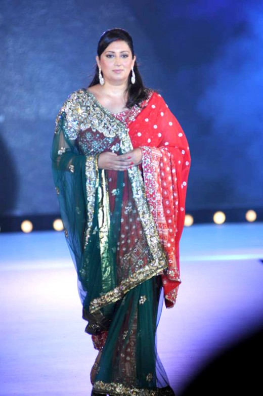 Smriti Irani  beautiful plus size woman