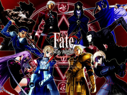 Top 10 Anime; Fate/Stay Night