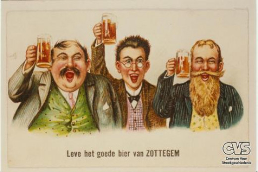 Translation: Long Live the Good Beer of Zottegem!