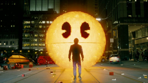 It's freaking sad that even pacman delivered a better acting performance than Adam Sandler did.