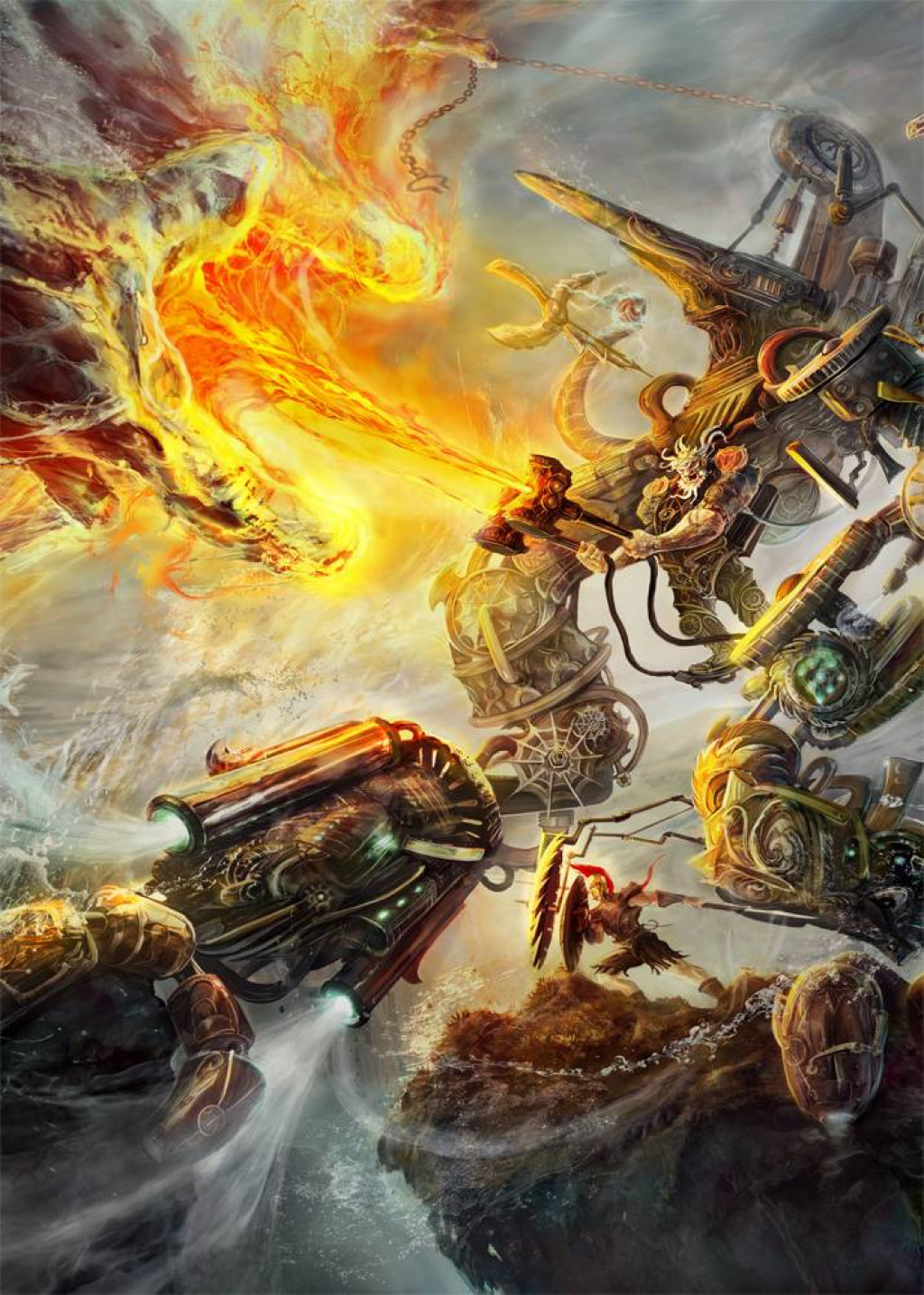 top 5 ancient mythology battles between gods hubpages
