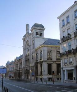 The Brussels Synagogue, rue de la Régence / Regentschapstraat