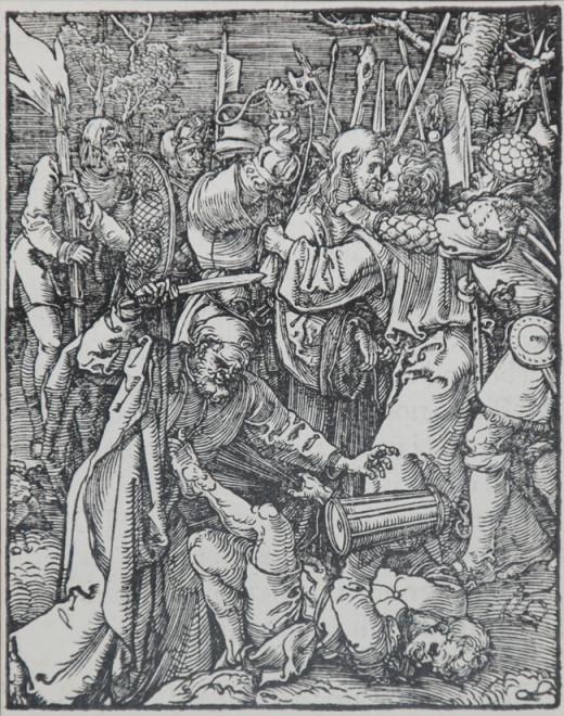 Woodcut print for the Bible by Albrecht Durer.