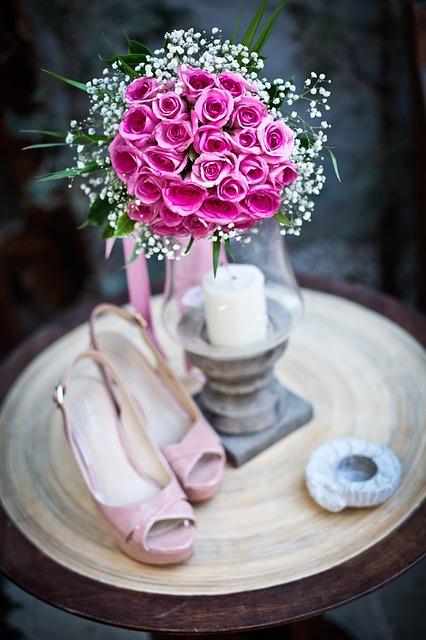 Beautiful Wedding Tussie Mussie