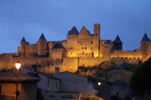 The Mysterious Medieval Walled Cité de Carcassonne