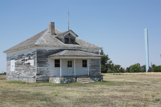 District No. 1 School, Nicodemus, Kansas