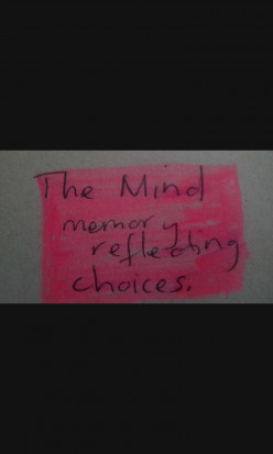 The mind how it works, (reflecting on memory).