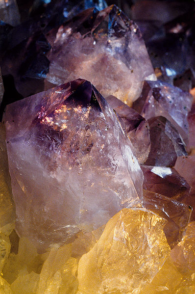 An Amethyst's powers are mani-fold. Some contain ancient information.