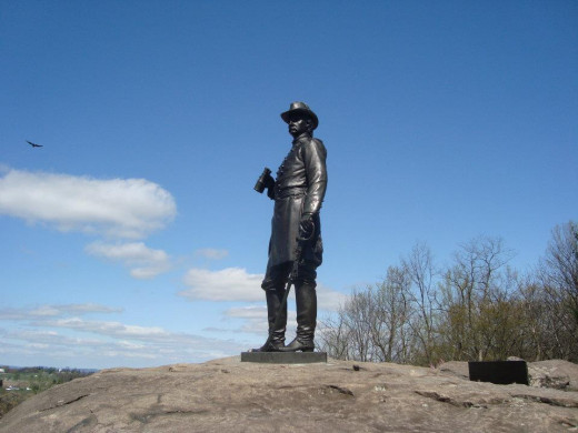 Away from the sports world, visiting historical sites like Gettysburg is a pastime.