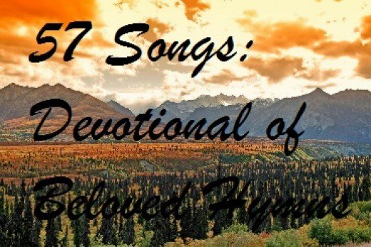 57 Songs: Devotional of Beloved Hymns by Barb Johnson