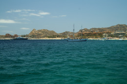 The outer bay at Cabo San Lucas