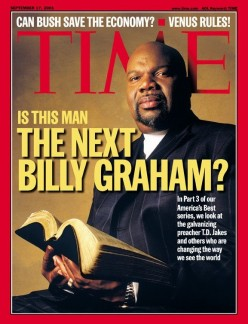 The So Called Modern Pillars (Including Bishop TD Jakes) of The Christian Faith Are Succumbing To The Gay Agenda....